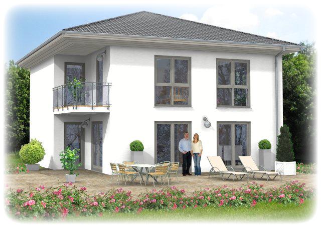 Für alle Baufamilien, die den Stil der modernen Bauweise lieben.