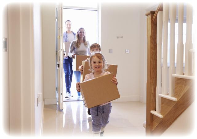 Mit dem Baukindergeld günstig ins eigene Heim.