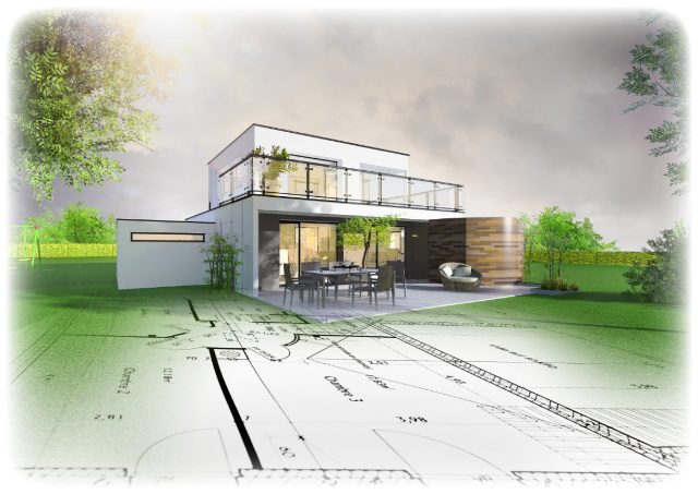 Individuelle Erweiterung eurer Bestandsimmobilie für mehr Wohnraum in eurem Haus.