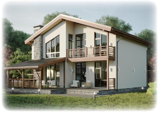 Modernes Erscheinungsbild, freie Hausplanung und Smart-Home inklusive.