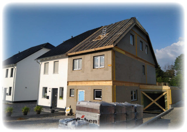 Musterhaus - Doppelhaushälfte